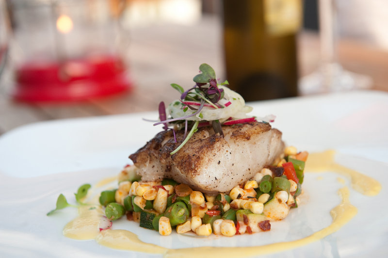 """If given the opportunity, chef Mitch Kaldrovich of Sea Glass Restaurant would serve the president an entree of fresh-caught silver hake, """"a delicious alternative to haddock or cod."""""""