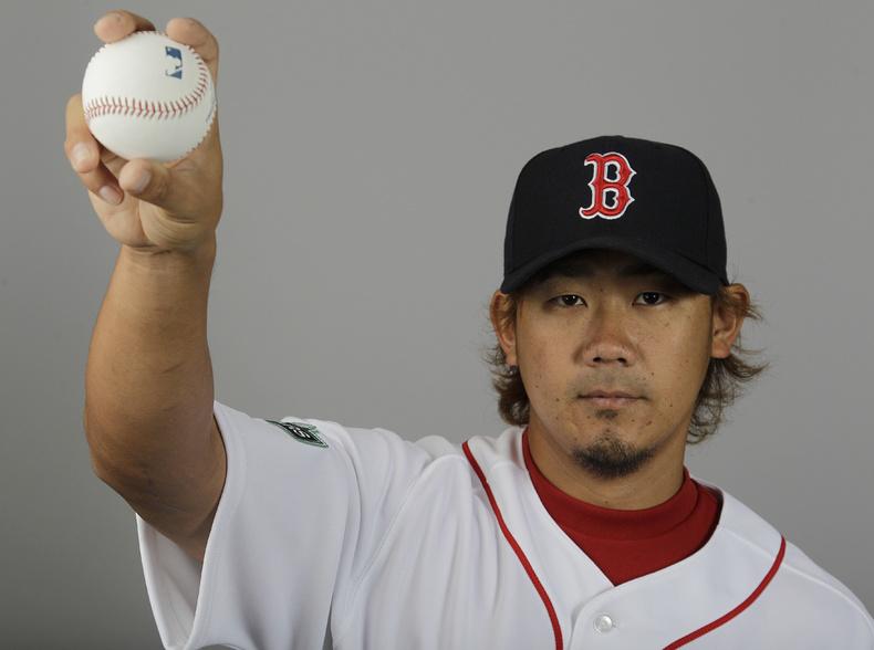 Daisuke Matsuzaka of the Boston Red Sox will pitch at Hadlock on Saturday.