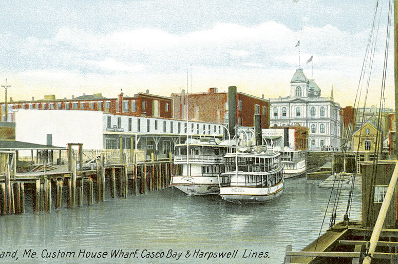 """Visions for the Portland waterfront have differed since the days of trade with the West Indies. Today it's the """"working waterfront"""" concept versus mixed residential, recreation and tourism."""