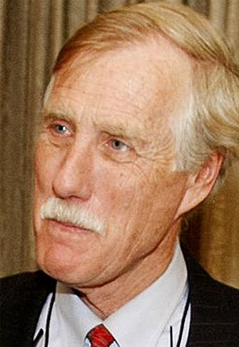 Former Maine Gov. Angus King