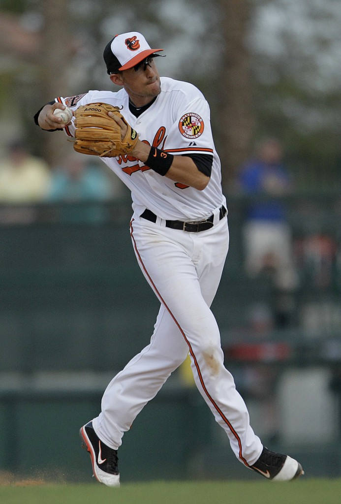 Ryan Flaherty played in 25 games this spring with the Orioles, hitting .232 with a homer and 10 RBI.