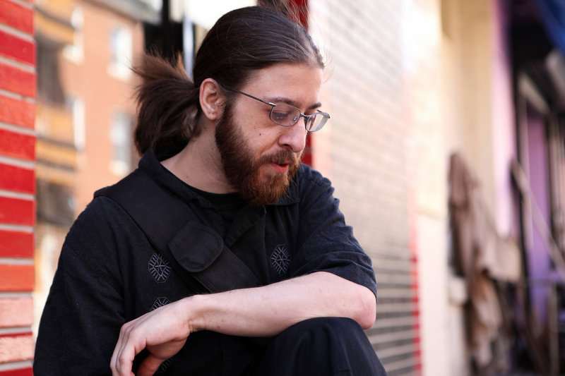 Chris Cocchi, 27, of West Chester, Pa., lives with his dad and spends his days surfing Craigslist for work. Experts say the jobs that were hit the hardest by the recession were jobs held by men like Cocchi, without a college degree.