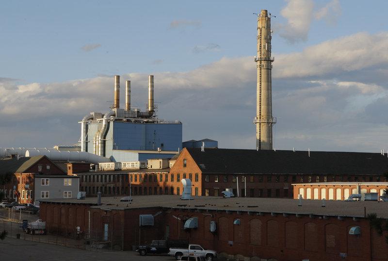 The MERC incinerator in Biddeford.