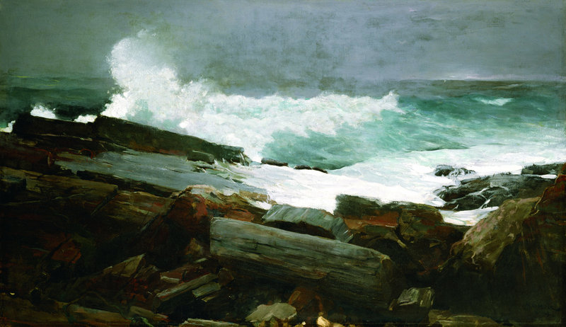 """""""Weatherbeaten,"""" an 1894 oil on canvas by Winslow Homer, will be included in a Portland Museum of Art show that opens Sept. 22. Homer lived in Maine from 1883 until his death in 1910."""
