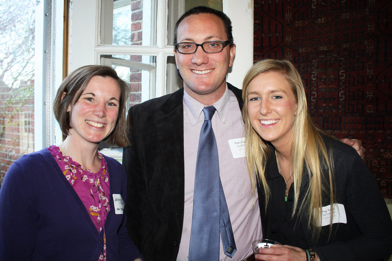Megan Pollino of Oak Street Studios, Martin Mackey of The REAL School and Page Nichols of The REAL School.