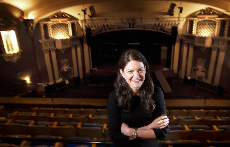 Lauren Wayne, general manager of the State Theatre in Portland, also brings musical acts to other city venues.