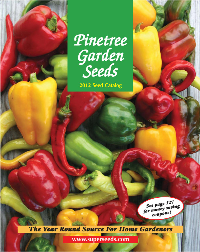 PINETREE GARDEN SEEDS; superseeds.com; 926-3400; In business since 1979; Sells a wide variety of vegetable, herb, flower and sprouting seeds, plus mushroom-growing kits and berry bushes. The vast majority of its seeds are organic.