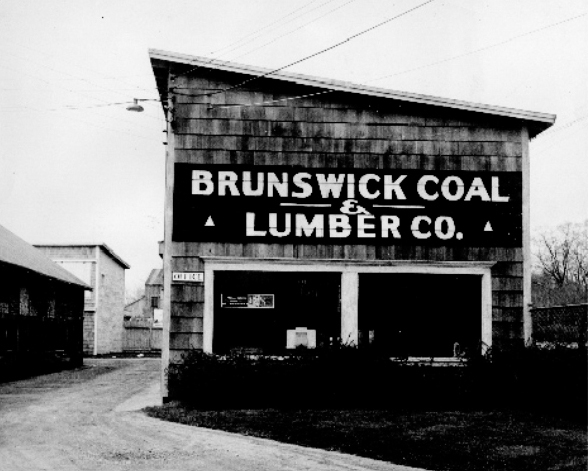 """Allen Morrell bought Brunswick Coal Co. in 1931 and shortly after added """"& Lumber"""" to the name. He expanded the business to include heating oil, propane and building materials."""