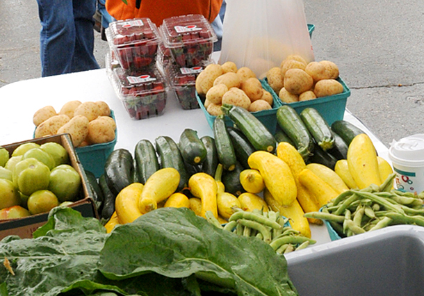 If approved, the farmers market at the Maine Mall would be held from 11 a.m. to 3 p.m. Tuesdays through the end of September.
