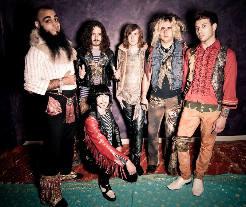 The rock band Foxy Shazam is at Port City Music Hall in Portland on Sunday.