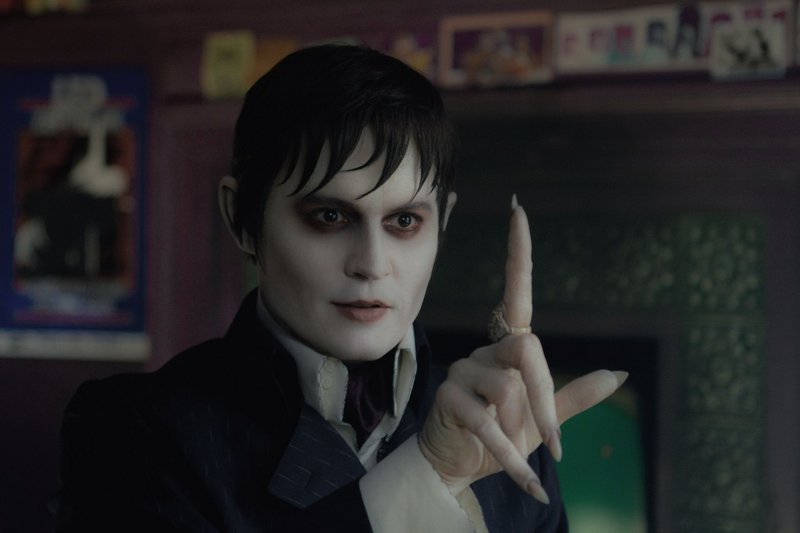 "Johnny Depp in ""Dark Shadows."""