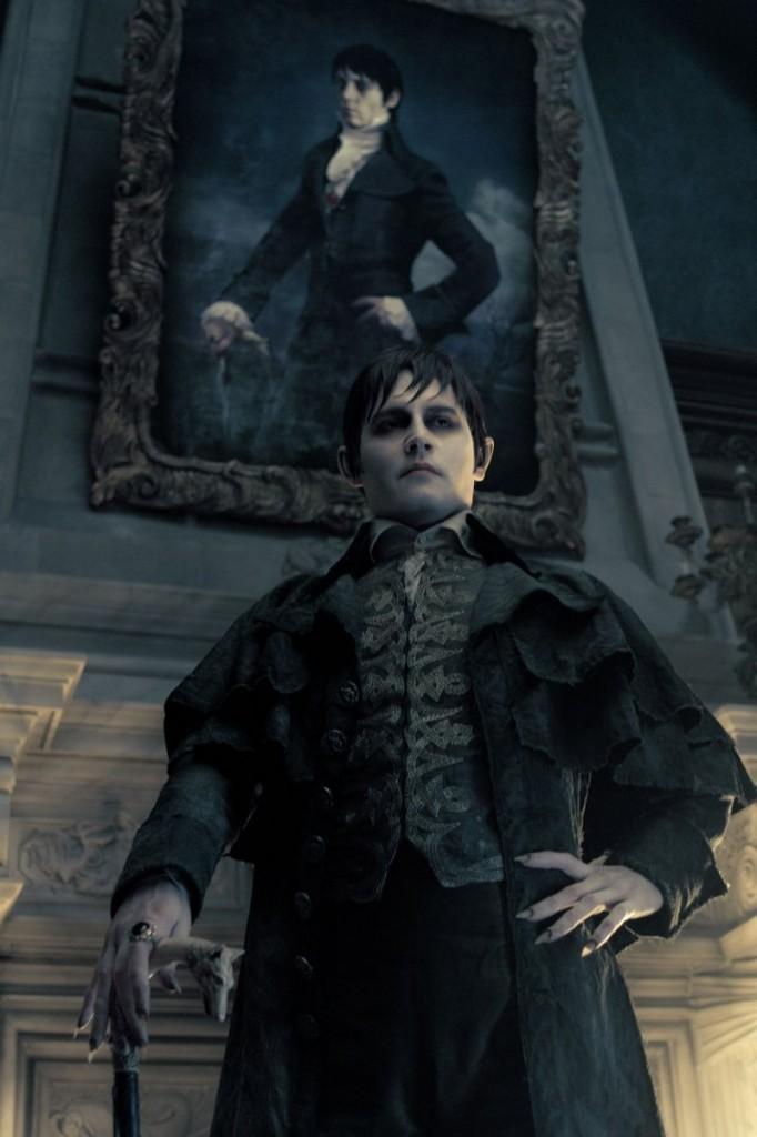 Johnny Depp as Barnabas Collins in