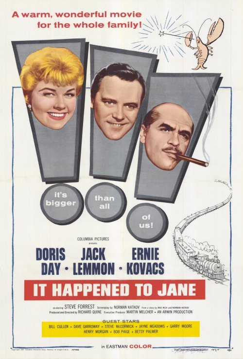 """It Happened to Jane,"" starring Doris Day and Jack Lemmon, was set – but not filmed – in Maine."