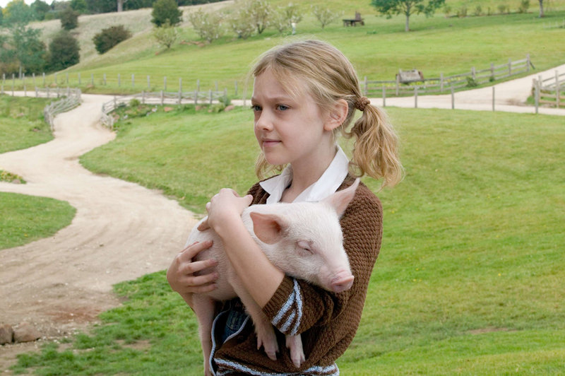 "Dakota Fanning in ""Charlotte's Web"""