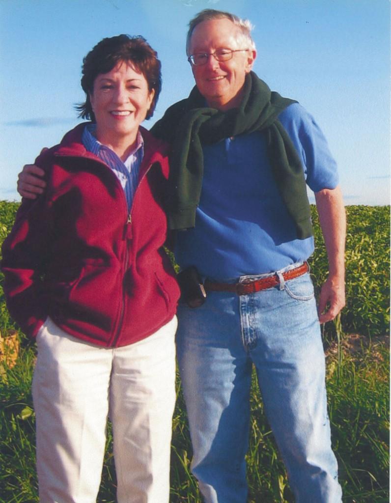 U.S. Sen. Susan Collins and Thomas Daffron.