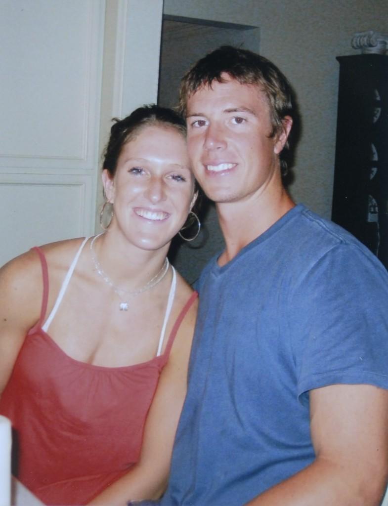 Sarah Marshall and husband Contributed photo