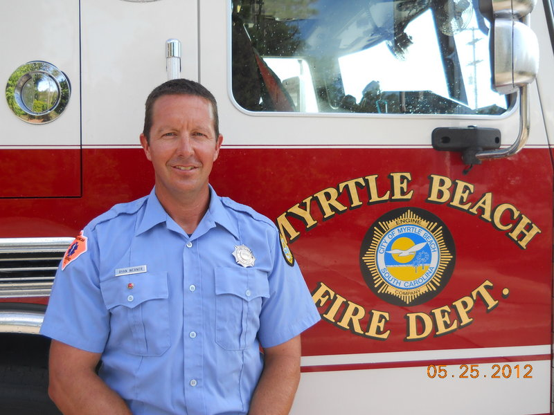 Ryan Werner became one of the country's top decathlon competitors and went on to become a firefighter in Myrtle Beach, S.C.