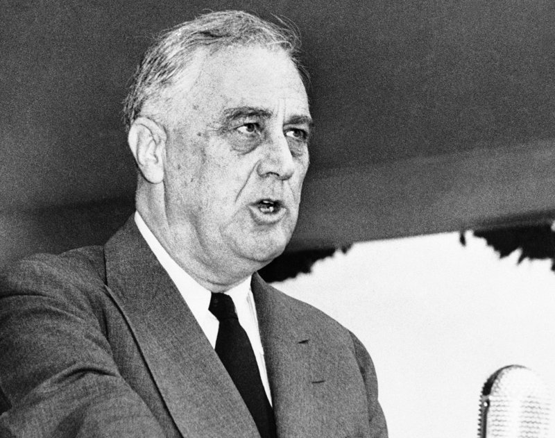 """Using """"socialist"""" as a political epithet in the U.S. dates back to pre-Civil War days. Decades later, many elements of President Franklin Roosevelt's New Deal, including Social Security, were denounced as socialist."""