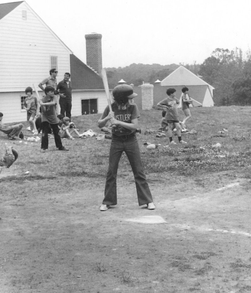 Janet Judge, below, a sports law attorney from North Yarmouth, is regarded by many as one of the nation's foremost experts on Title IX. Above: Judge, at age 10 in 1972, was one of the first girls to play Little League baseball in her native Maryland. That season, she was mostly intentionally walked or hit by the pitch.