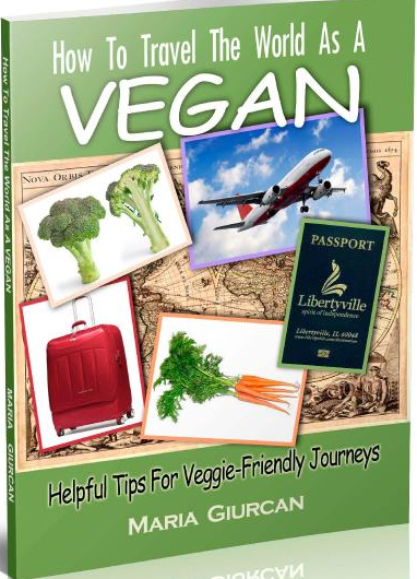 "Featured speakers at the festival include Maria Giurcan, author of the e-book ""How to Travel the World as a Vegan."""
