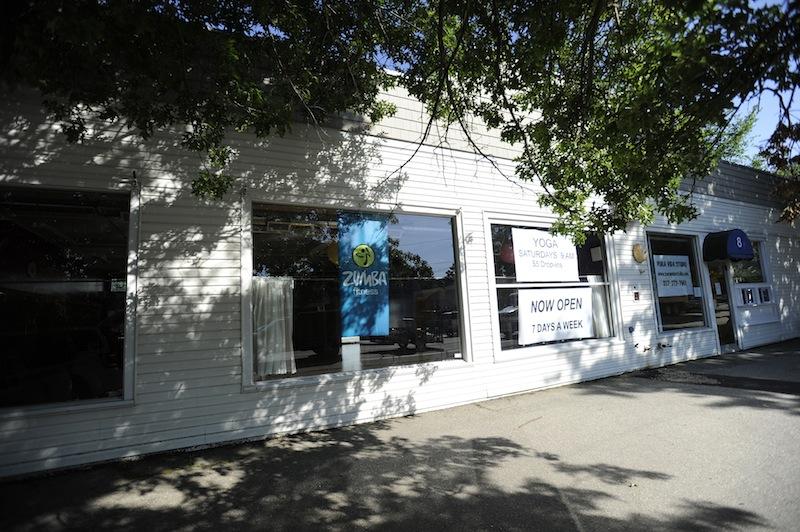 Pura Vida Studio in Kennebunk, where dance studio instructor Alexis Wright allegedly ran a prostitution operation.