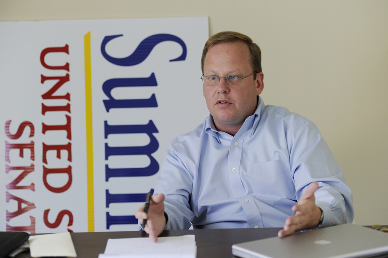 """Lance Dutson, campaign manager for U.S. Senate candidate Charlie Summers: """"In Maine, I figured that all you need to do is start a blog, be a little sarcastic, stick to your guns and you can become a voice."""""""