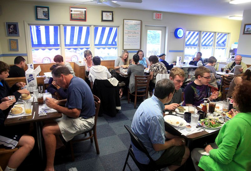 The Maine Diner, known for its Lobster Pie and Lobster Mac and Cheese, also serves hash, boiled dinner and much more.
