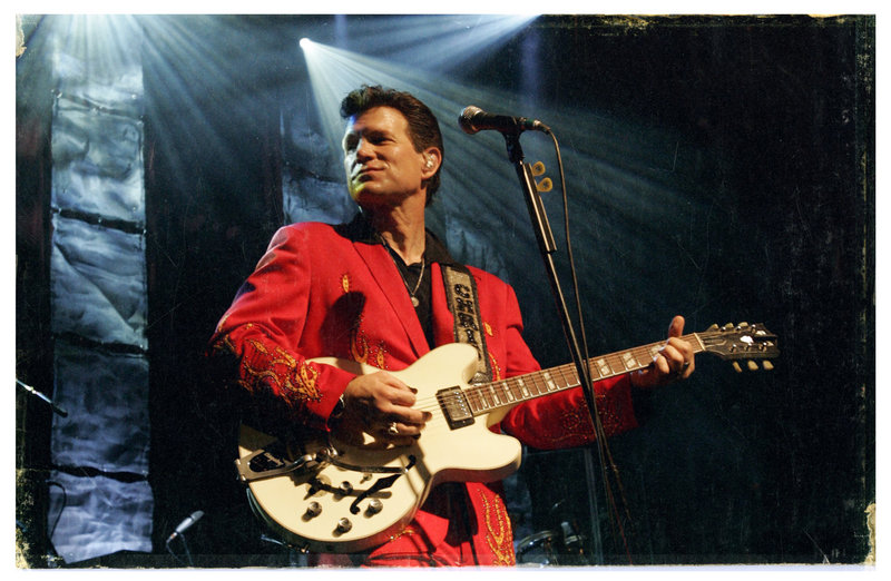 Chris Isaak's concert is from 7:30 to 9 p.m. Saturday at Discovery Park in Freeport.