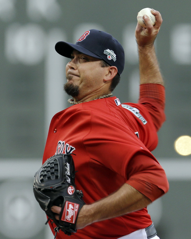 Josh Beckett, along with Jon Lester, needs to be a dominant starter in the second half of the season if the Red Sox, just 21⁄2 games out of a playoff berth, are to make a run.