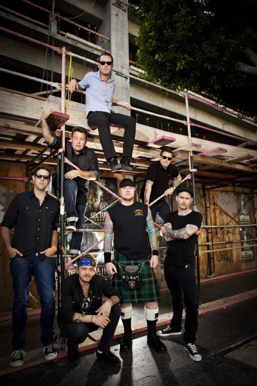 """The Dropkick Murphys will play Mumford's """"Stopover"""" festival in Portland. The punk-pop band from Boston is one of a number of acts that will perform, including St. Vincent, Dawes and The Maccabees."""