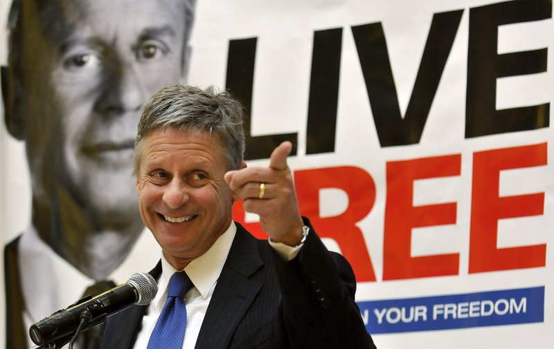 Gary Johnson, a former governor of New Mexico, announces his decision to leave the Republican Party and run for president as a Libertarian last December. He has attracted the interest of Ron Paul backers who are disillusioned with the Republican Party.