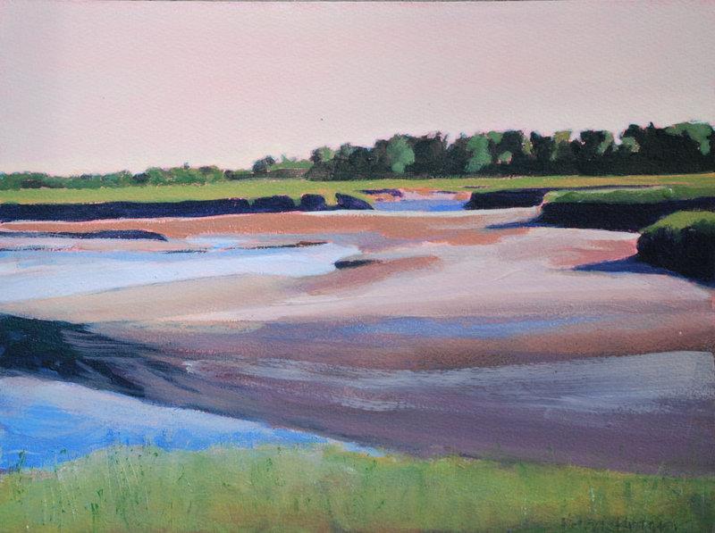 """""""Tidal Marsh"""" by Berri Kramer-Parsons"""