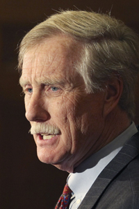 The Republicans need a net gain of four seats to capture control of the Senate, and the loss of the Maine seat to independent Angus King would complicate its prospects