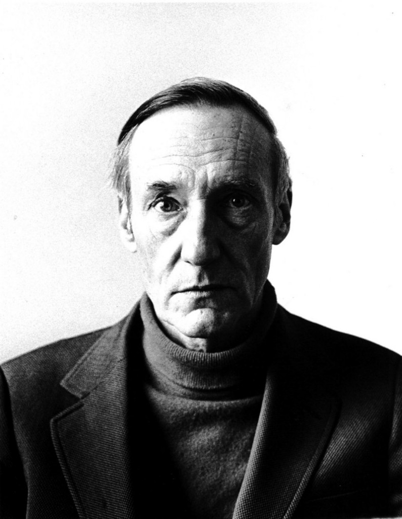 Charles Gatewood's 1972 portrait of William S. Burroughs.