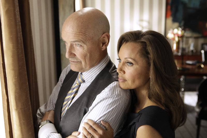 """Terry O'Quinn and Vanessa Williams in ABC's """"666 Park Avenue."""""""