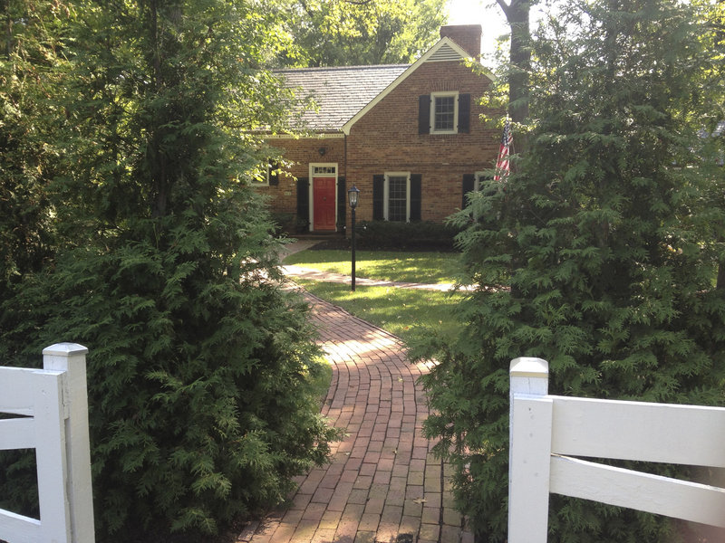 Born in 1944, King grew up in this brick two-story home in a leafy neighborhood on the slope of Seminary Hill on the outskirts of Alexandria, Va.