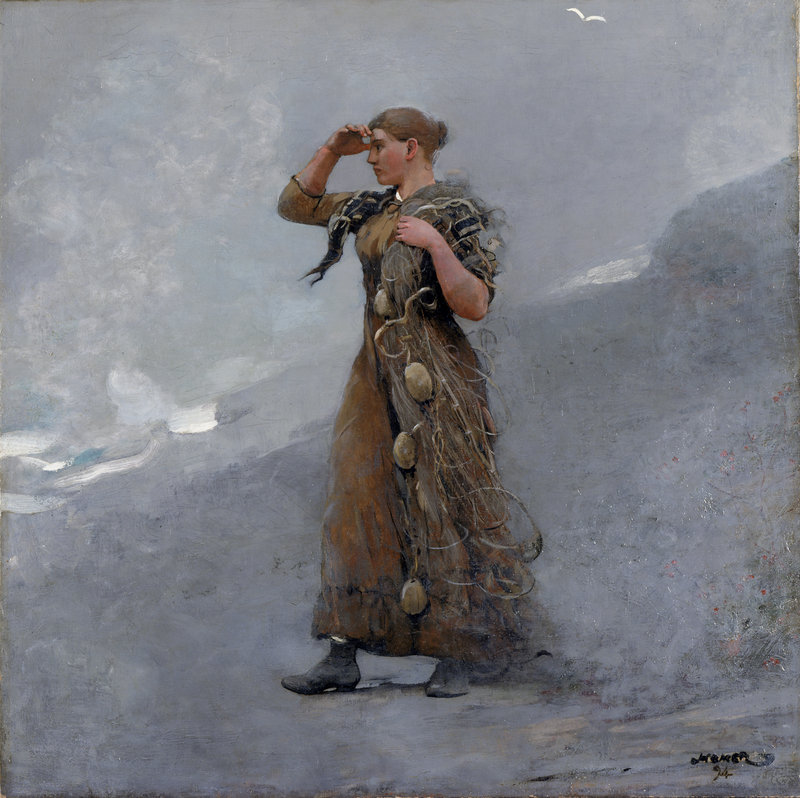 """""""The Fisher Girl,"""" 1894"""