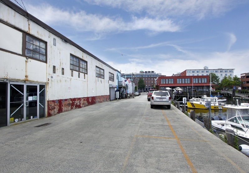 Stephen Goodrich, chief executive officer of Powerpay, has taken control of Maine Wharf in Portland through a lease with an option to buy. He plans to fix structural issues – such as replacing old pilings – and to renovate some of the dilapidated buildings.