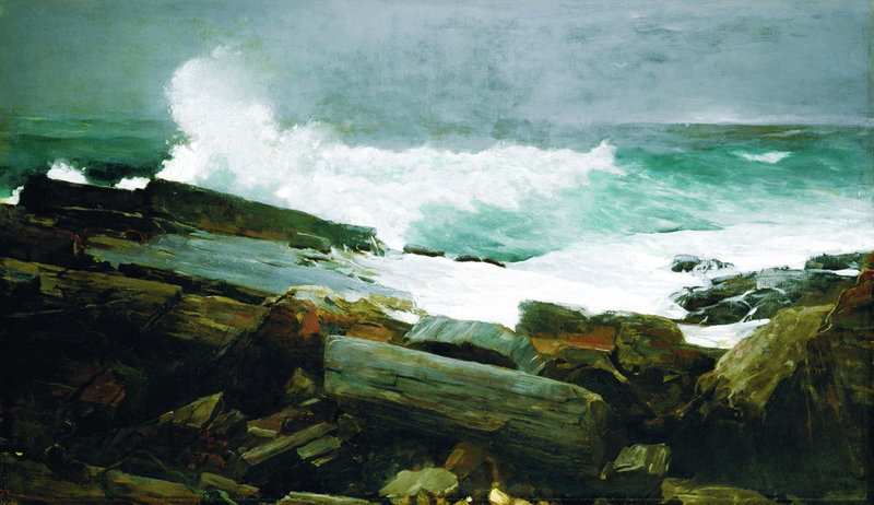 """The Portland Museum of Art's exhibition of """"Weatherbeaten: Winslow Homer and Maine"""" remains on view through Dec. 30."""