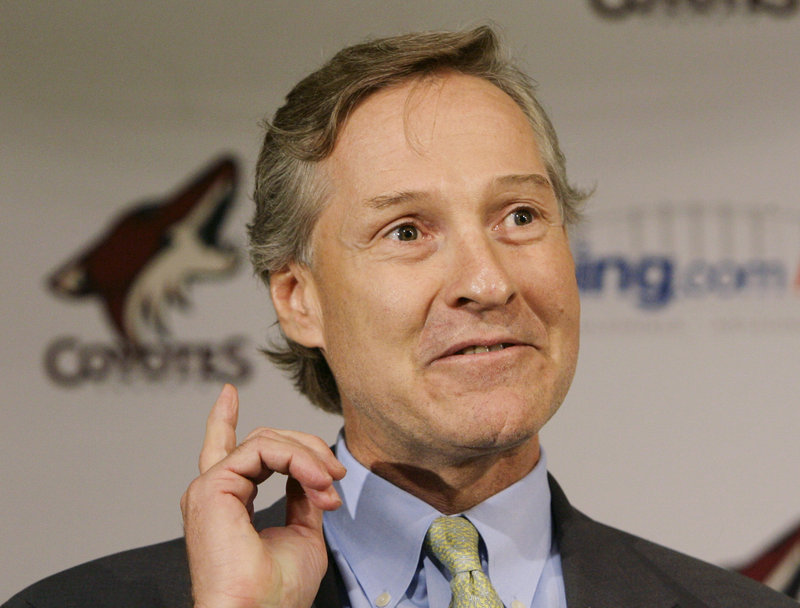 """Phoenix GM Don Maloney says he has """"put a premium on character and competitiveness"""" in his search for players since taking over the club four years ago """"because we don't have the wherewithal to pay high-end skilled players right now."""""""