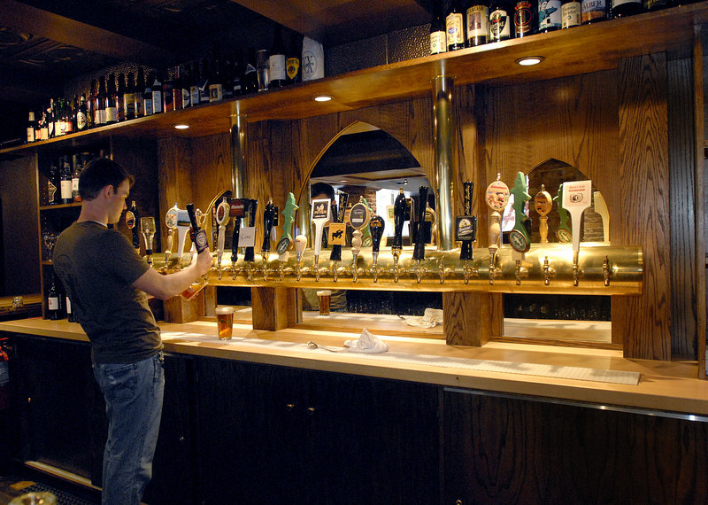 Novare Res Bier Cafe in Portland has 25 rotating taps for pleasing the palates of craft beer lovers, whether it's a farmhouse saison, a chocolate porter, an India pale ale or a stout.