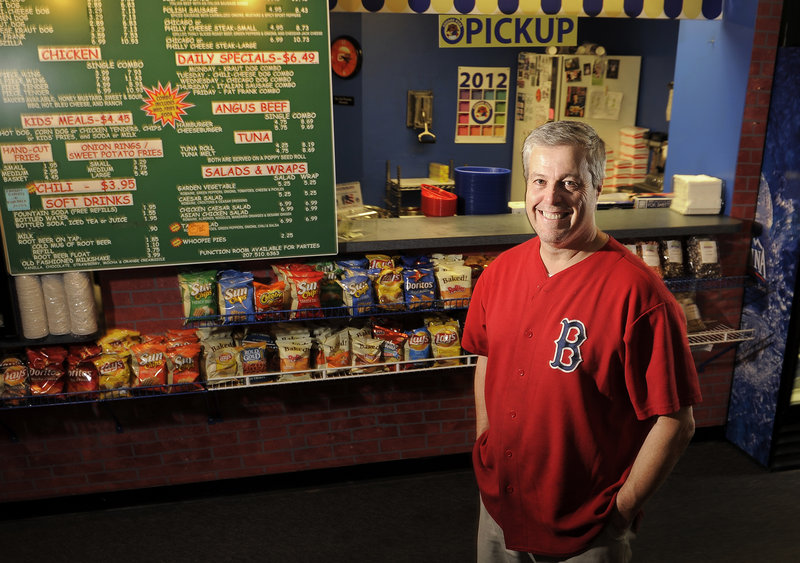 Chicago Dogs has a definite sports theme and an owner, Joe Palmieri, who hosts a morning sports talk show on Portland radio.