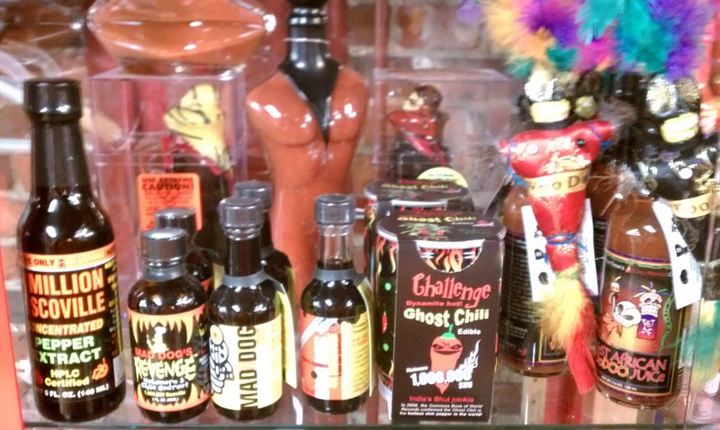 Rich Hirschman of Portland Rock Lobster will bring some of his hot sauces to The Thirsty Pig for a tasting on Nov. 8.