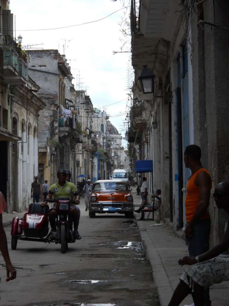 Highlights of the writer's Cuban adventure included a walking tour of old Havana.