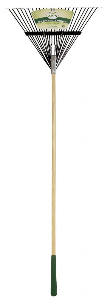 The Ames 24-tine leaf rake ($12.97);