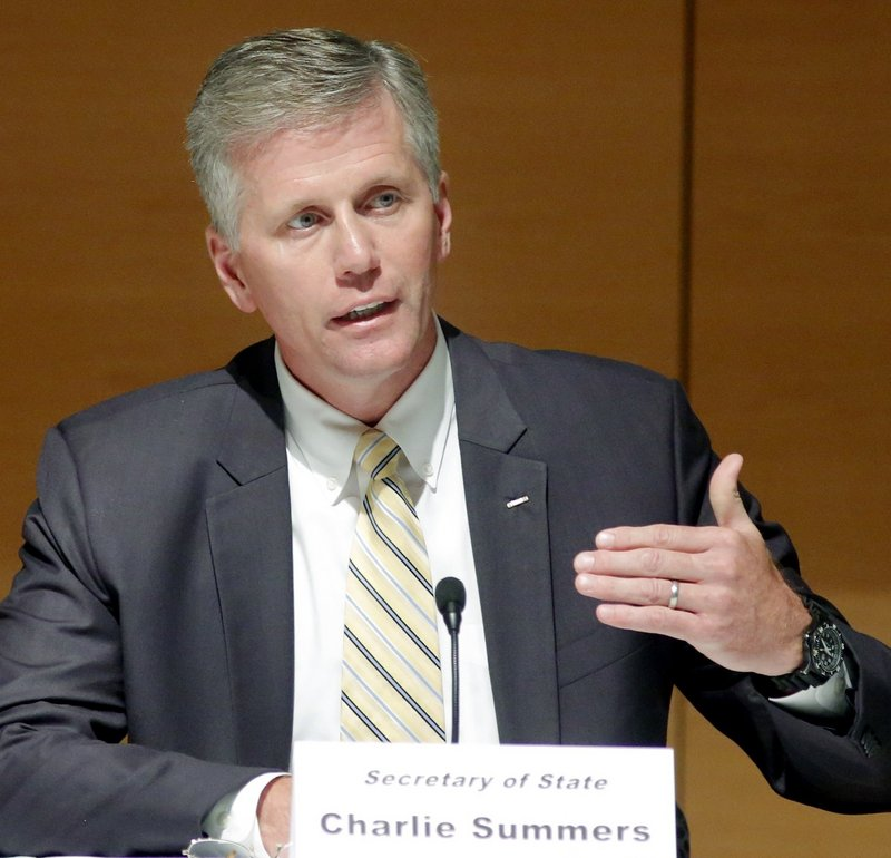 Republican Charlie Summers responds to a question last month during a debate at the University of Southern Maine in Portland. The candidate looks to bring his affable style to a legislative body paralyzed by dysfunction and partisan gridlock.