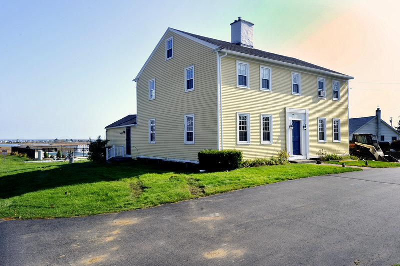 The Storer Garrison House, built in 1816 with historic timbers, is scheduled to be moved from its current Route 1 location to a new site on Nov. 7, depending on weather.