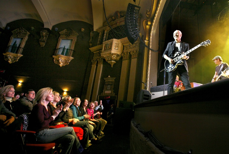 Peter Frampton performs at Portland's State Theatre last February.