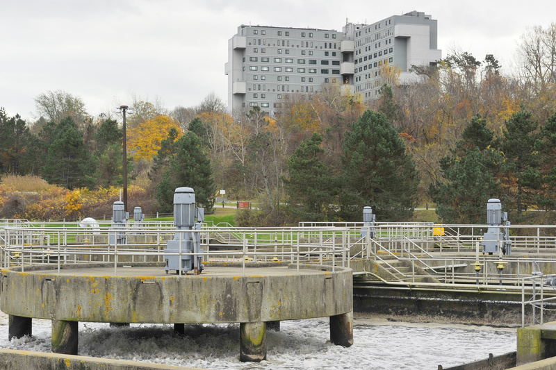 One of the bonds approved by voters Tuesday calls for money to be spent on, among other projects, wastewater treatment facilities, such as Portland's plant on the city's east end.