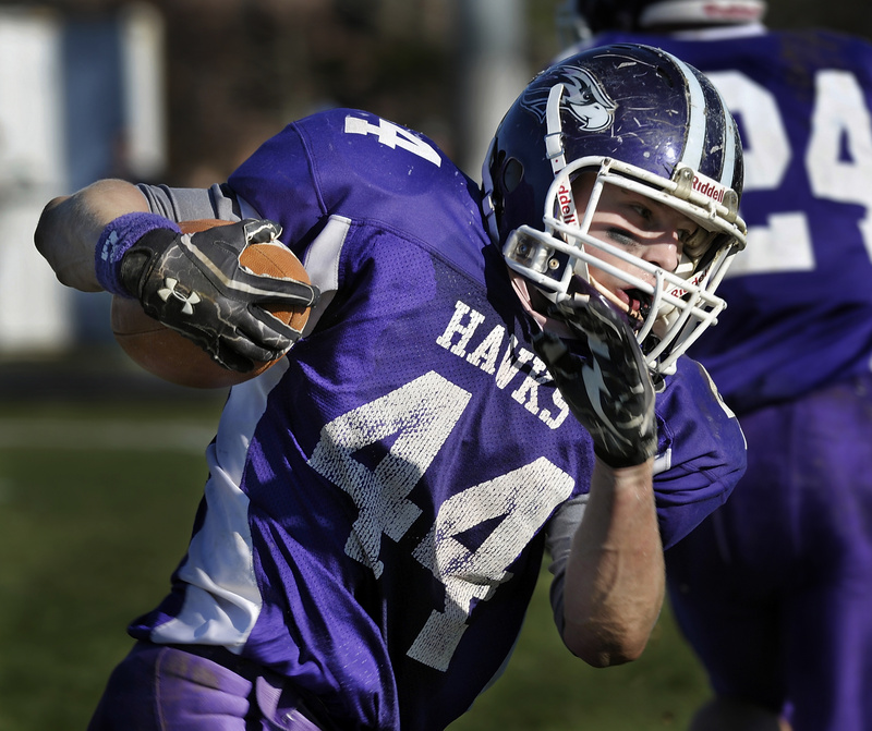 Brett Gerry, just a sophomore, is part of a talented group of runners that Marshwood will rely on Saturday in the Class B state final.